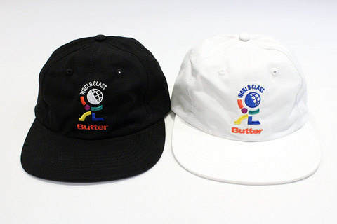 "BUTTER GOODS (バターグッズ) "" World Class 6 Panel Cap """