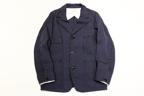 "Ordinary fits (オーディナリーフィッツ) "" COVER ALL JACKET "" seersucker"