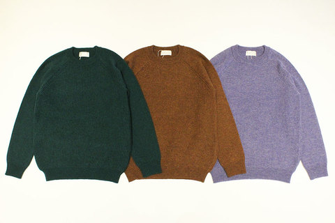 "Soglia (ソリア) "" LERWICK Sweater """