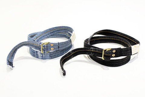"Hexico (ヘキシコ) "" DEFORMER DENIM BELT """