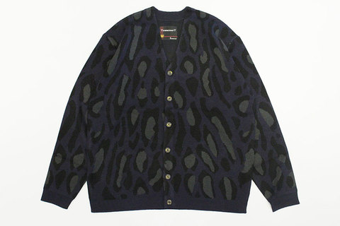 "TOWN CRAFT (タウンクラフト) "" JACQUARD CARDIGAN SWEATER """