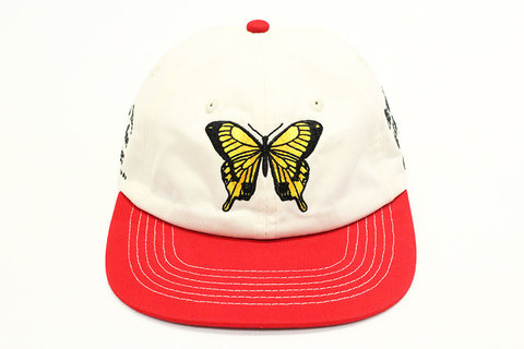 "BUTTER GOODS (バターグッズ) "" Butterfly 6 Panel Cap """