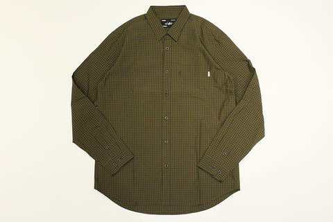 "WHIMSY (ウィムジー) "" Plaid Cordura Nylon L/S Shirt """