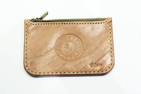 "Brown Brown (ブラウンブラウン) "" Bi Color Card Coin Case """