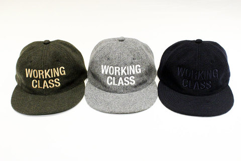 "THE COLOR (ザ・カラー) "" WORKING CLASS "" WOOL CAP"