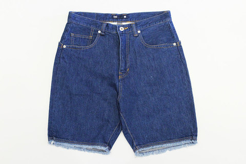 "THE FABRIC (ザ・ファブリック) "" BIG POCKET DENIM SHORTS """