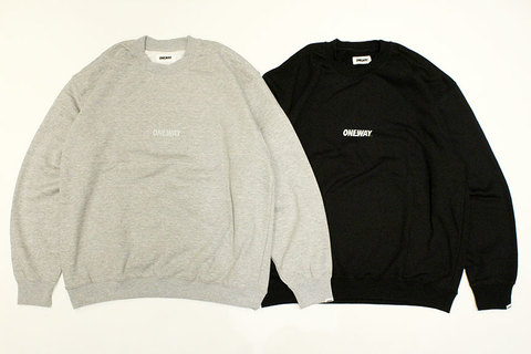 "ONEWAY (ワンウェイ) "" Reflector LOGO SWEAT """