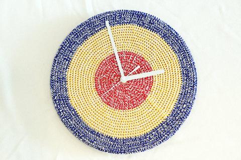 "miraco (ミラコ) "" Miracle Clock "" knitting"