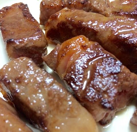 松阪牛モモ肉A4等級(スティックステーキ)<250g>