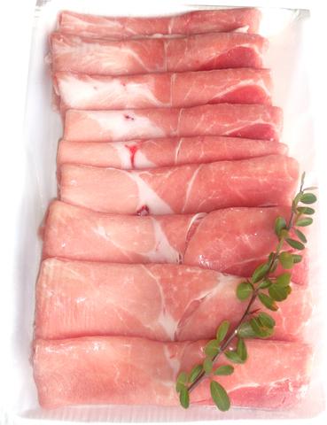 古代豚(ヨークシャー)赤身モモスライス500g