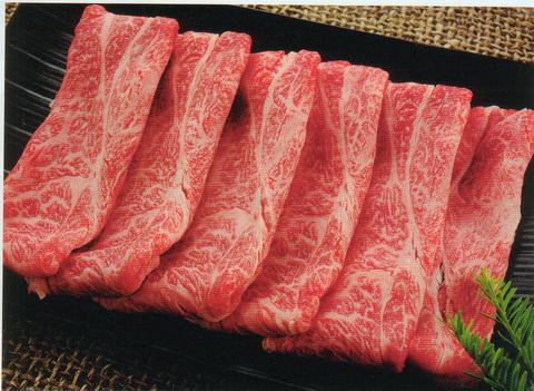 松阪牛モモ肉A4等級(すき焼き用)<200g>