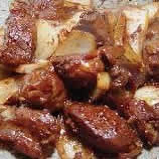 味付け豚ボツ焼き(味噌だれ)200g