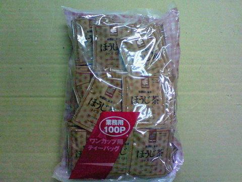 TB-003 ほうじ茶ティーバッグ100p