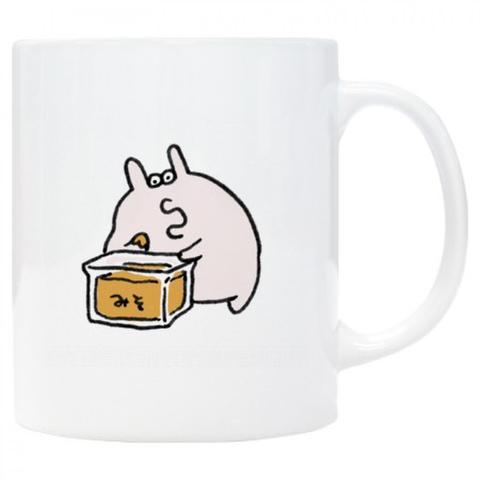 MISOつまみぐいうさぎマグカップ