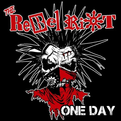 """THE REBEL RIOT - One Day 7""""EP(イラストジャケット)"""