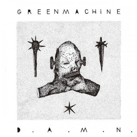 D.A.M.N - GREENMACHiNE [CD]