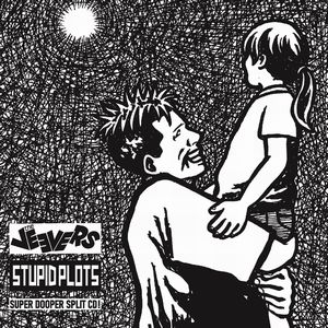 THE VEEVERS / STUPID PLOTS - SUPER DOOPER SPLIT CD!