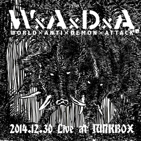 WxAxDxA - 2014.12.30 Live at JUNKBOX