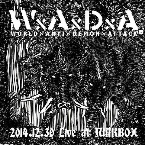 WxAxDxA - 2014.12.30 Live at JUNKBOX