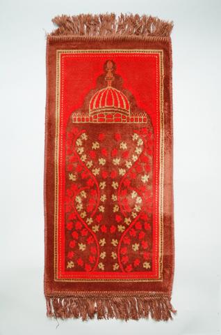 イスラム教礼拝用敷物(ピンク) アウトレット品