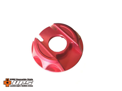 シグナスX【2型~4型】アルミガソリンキャップ 国内仕様専用品 レッド