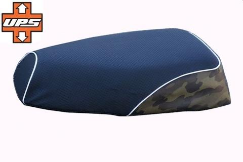 ジャイロ X専用 カモフラージュ(迷彩柄)シートカバー カーキ色