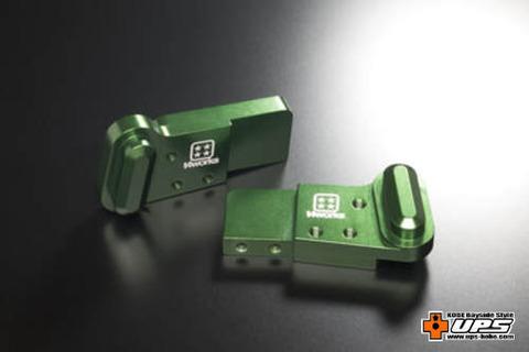 【t4works】ビレットハンガー(8mmロング) ホーネット用 グリーン