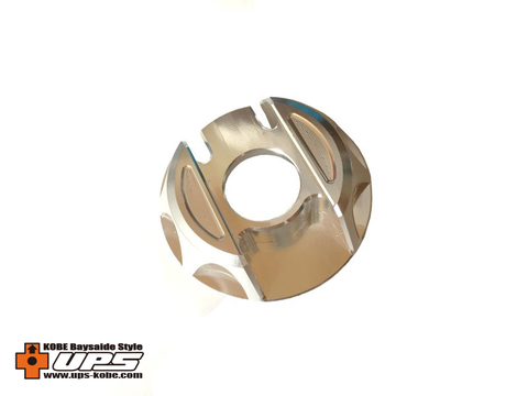 シグナスX【2型~4型】アルミガソリンキャップ 国内仕様専用品 シルバー