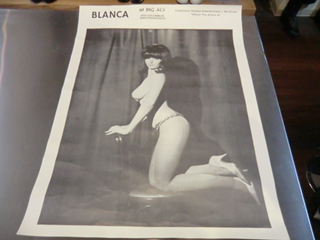 N.O.S.BLANCA OF BIG ALS SIXTIES POSTIES ONE PHOTO