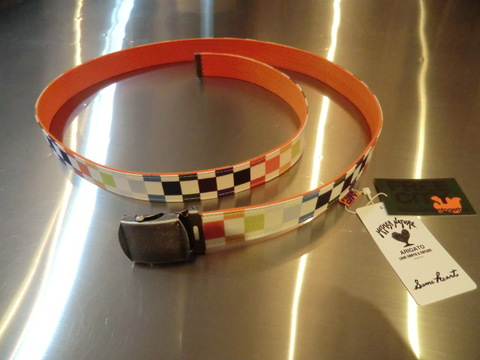 FCJBL T05 FREECITY RAINBOW CHECKER GI BELT