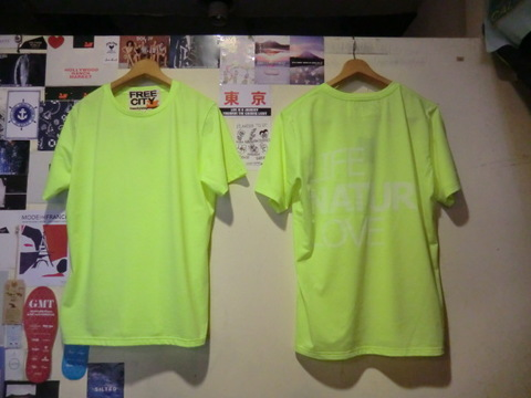 FCJSST68 LIFE NATURE LOVE NEON COLOR SHORTSLEEVE. T