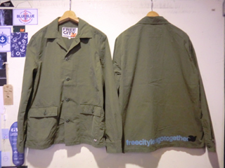 FCJSTL105 FREECITY DOVE LIGHT RIP STOP SHIRT JACKET
