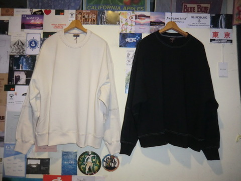 """COTTON BASIC URAKE / BIG SILHOUTTE SWEAT SHIRT"""