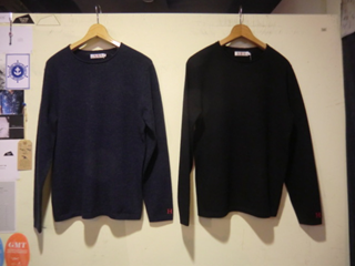 KW2348 MERINO COTTON ANGORA CREW NECK SWEATER