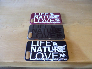 FCJIPC03 LIFE NATURE LOVE AND SPARROW iPhone CASE
