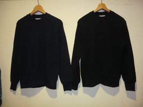 CREW NECK RIB STTCH KNIT