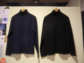 KW2350 MERINO COTTON ANGORA TURTLE NECK SWEAT