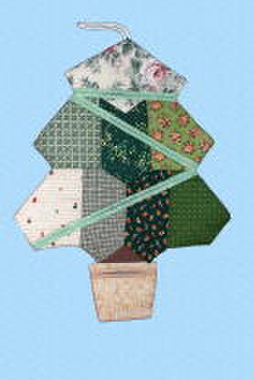 クリスマスツリー型ウォールポケット