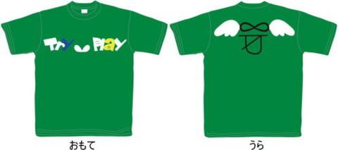 Try∞Play オリジナルTシャツ