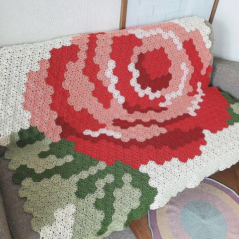 薔薇のマルチカバー