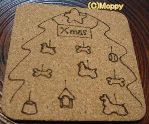 コースター角型(クリスマス)9