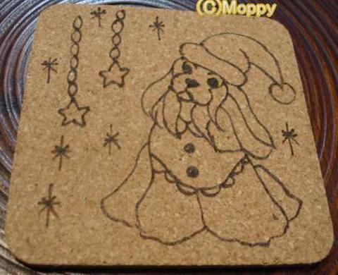 コースター角型(クリスマス)16