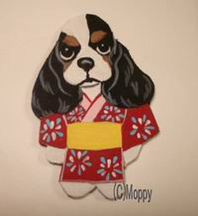 マグネット浴衣祭 Aコッカートライ(赤)