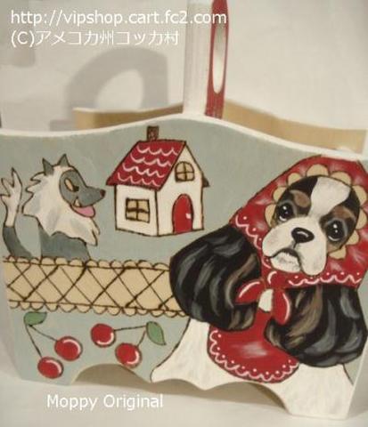 オオカミとコカずきんちゃん リモコンラック(TRY)