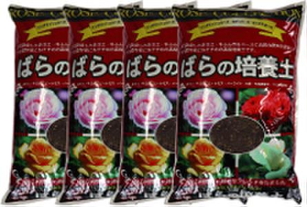 有機バラの培養土 14L 4袋セット