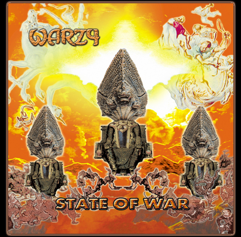 WARZY『STATE OF WAR』デジパック仕様