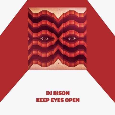 DJ BISON keep eyes open MIX CD