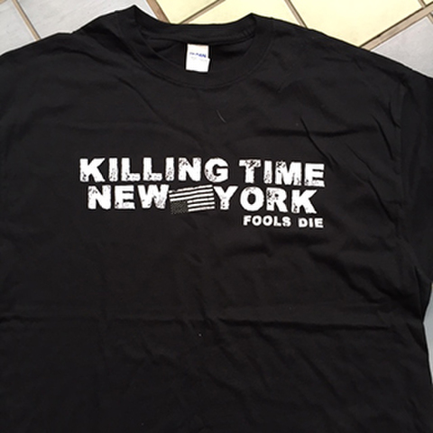 KILLING TIME fools die T-SHIRTS