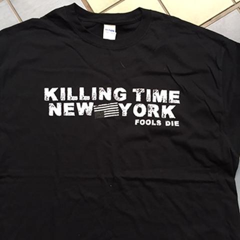 KILLING TIME fools die T-SHIRTS