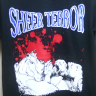 SHEER TERROR bulldogs blood T-shirts